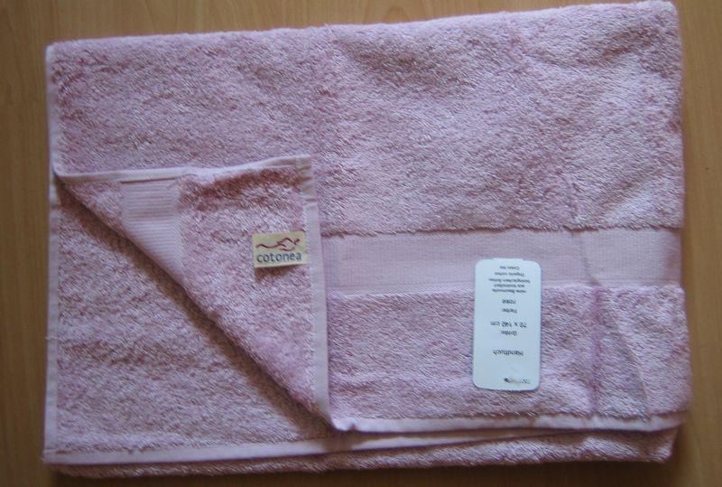 Handtuch Cotonea rose