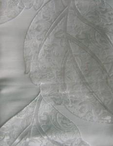 Vorhang weiß muster