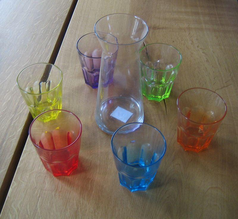 Luminarc-Gläser