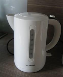 Wasserkocher - Frühstücksset