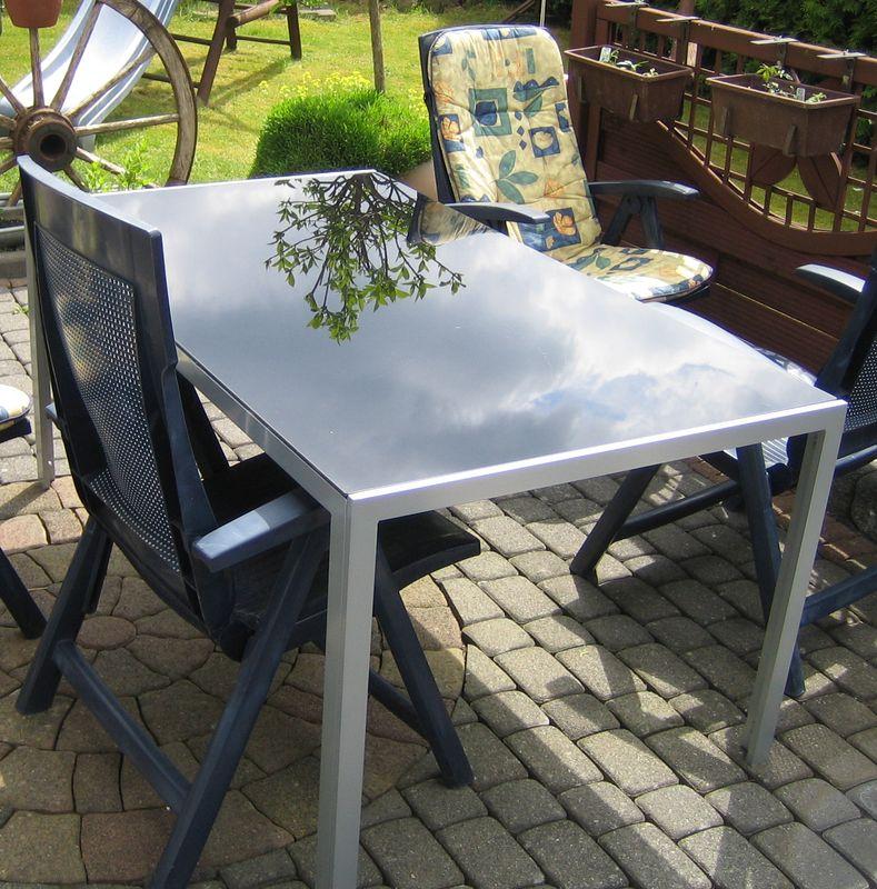 Aluminium Gartentisch Cantania