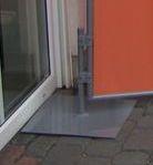 Fußplatte-Sichtschutz