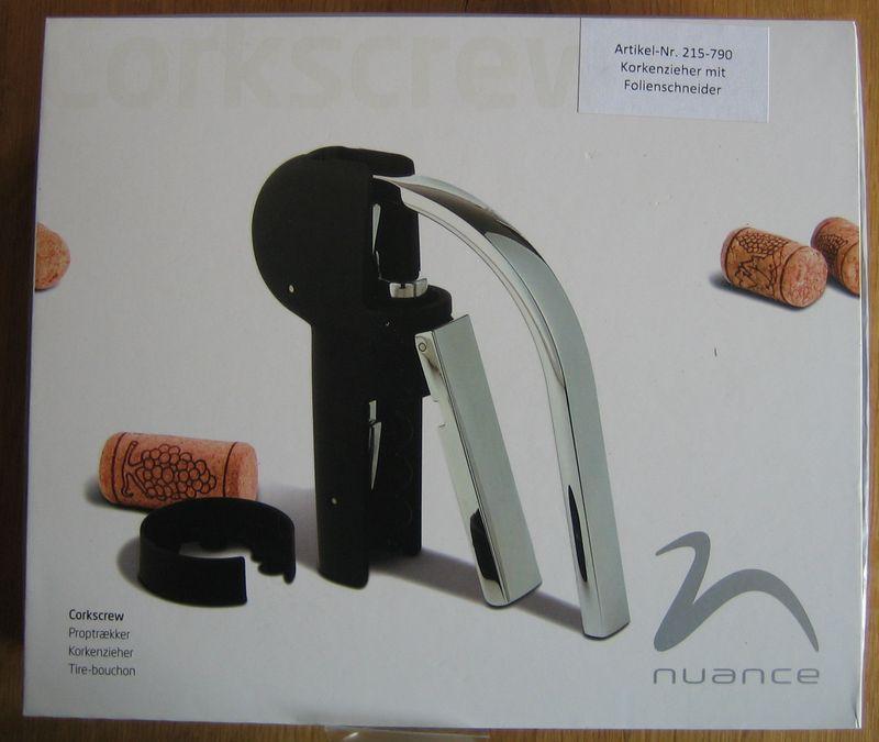 Design-Korkenzieher